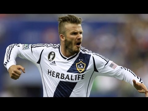 Spectacular Beckham shot evens score between LA Galaxy and Montreal Impact