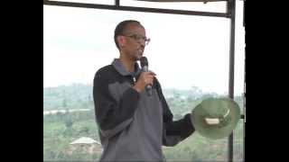 President Kagame Joins Cyeru Resident For Umuganda- Gasabo, 30 August 2014