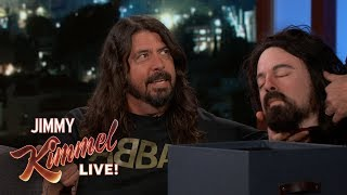 Dave Grohl Gives Jimmy Kimmel a Very Disturbing Gift