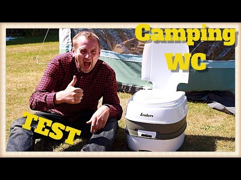 Enders Camping Mobil-WC Test / Review Deutsch