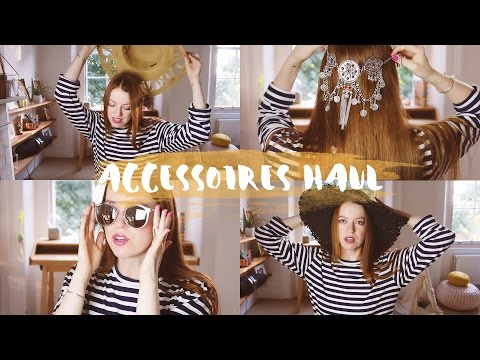 ASOS Accessoires Haul & Try On (Sale, Urlaub, Herbst- & Winterkollektion)