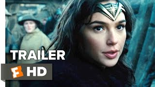 Wonder Woman Official Trailer 2 2017  Gal Gadot Movie