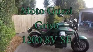 10. Moto Guzzi Griso 1200 SE