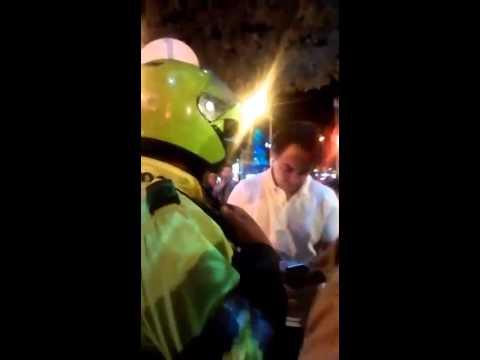 Sobrino del ex presidente César Gaviria protagonizó escandalo en Bogotá