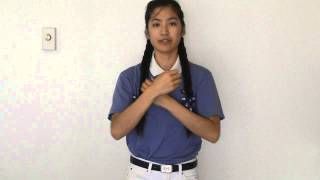 Love in the World 人間有愛(Tzu Chi) in ASL- Tutorial