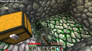 Minecraft Let's Play Ep. 21 Abandoned Mine!