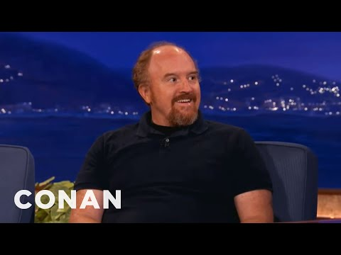 Louis - Why? Well, it's a melancholy tale filled with despair and hope and a Bruce Springsteen song. More CONAN @ http://teamcoco.com/video Team Coco is the official...