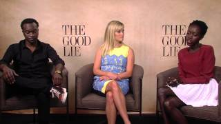 Nonton The Good Lie  Reese Witherspoon  Arnold Oceng    Kuoth Wiel Official Interview Film Subtitle Indonesia Streaming Movie Download
