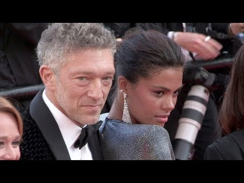 Tina Kunakey, Vincent Cassel and more on the red carpet for the Premiere of Les Filles Du Soleil in