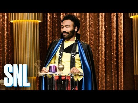 Donald Glover's Lando Calrissian Asks SNL: Where Are All The Black People In Space?