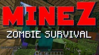 Minecraft MineZ PvE Server - No Player vs Player Combat (Zombie Survival Server)