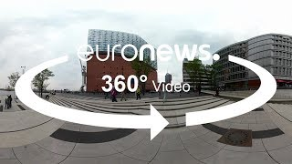 In this 360° video, witness how the German city is building higher and higher above sea level to protect itself from floods.What are the top stories today? Click to watch: https://www.youtube.com/playlist?list=PLSyY1udCyYqBeDOz400FlseNGNqReKkFdeuronews: the most watched news channel in EuropeSubscribe! http://www.youtube.com/subscription_center?add_user=euronews euronews is available in 13 languages: https://www.youtube.com/user/euronewsnetwork/channelsIn English:Website: http://www.euronews.com/newsFacebook: https://www.facebook.com/euronewsTwitter: http://twitter.com/euronewsGoogle+: http://google.com/+euronewsVKontakte: http://vk.com/en.euronews