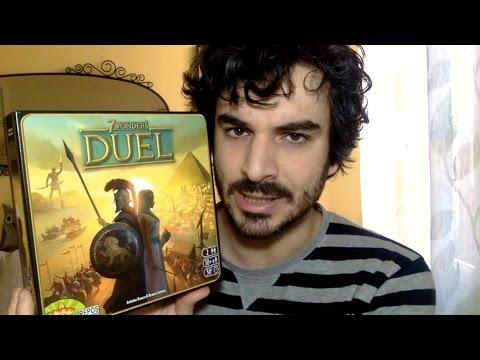 7 Wonders DUEL (gioco da tavolo) - Recensione