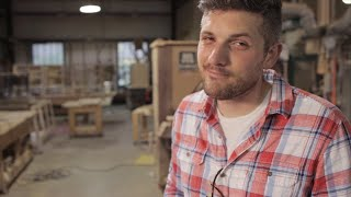What happens when our actions don't match up with our words? This humorous interview with a self-described furniture maker illustrates the folly of claiming to be something we're not, and the important role actions play in our lives.