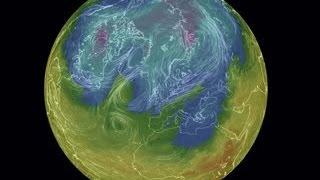 A bite of winter is forecast for much of the UK, Ireland and Europe during New Year 2017. This maps shows the plunger of cold air arriving on New Years Day.