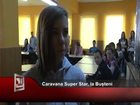 Caravana Super Star, la Bușteni