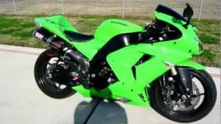 10. 2007 Kawasaki ZX10R Ninja Lime Green