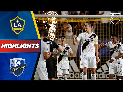 Video: LA Galaxy vs Montreal Impact | Fireworks from Zlatan! | HIGHLIGHTS