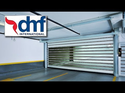 DMF International high speed carpark doors