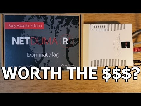 Worth the Money? Low Ping, Zero Lag Pro Esports and Streaming Netduma R1 Gaming Router Review