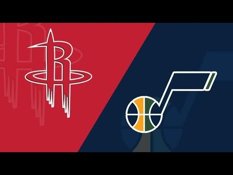 NBA Live Stream:Utah Jazz Vs Houston Rockets (Live Reaction & Play By Play) Game1