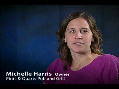 michelle harris - In this testimonial, Michelle Harris, Owner of Pints & Quarts Pub and Grill, discusses the numerous benefits of the Muskegon area, owning a business in Muske...