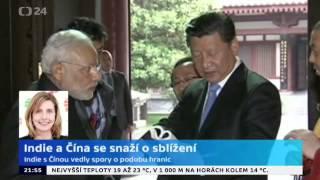 Indie a Čína se snaží o sblížení