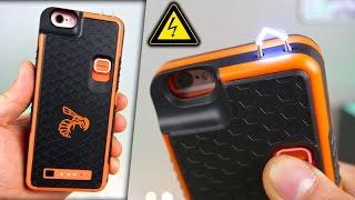 Badass iPhone Stun Gun Case! + Electrocuting Myself⚡️🐝