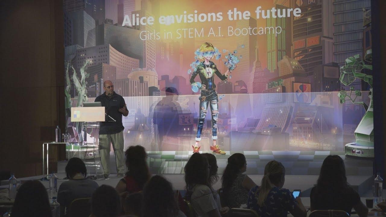 Τετραήμερο σεμινάριο για την τεχνητή νοημοσύνη για κορίτσια 15-17 ετών από την Microsoft