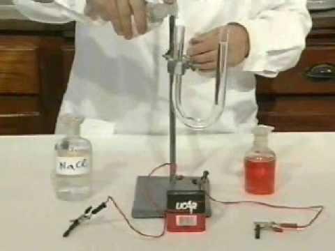 Ηλεκτρολυση - Ηλεκτρόλυση NaCl.