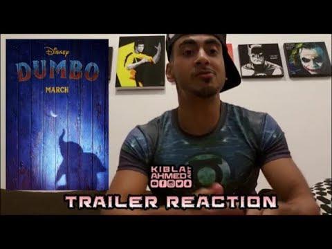 DUMBO Official Teaser TRAILER REACTION