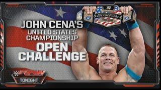 Dean Ambrose VS John Cena Highlights (USA championship) Raw 30.03.2015