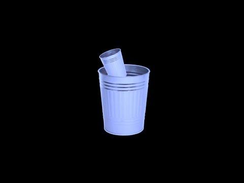 throw away the garbage pail