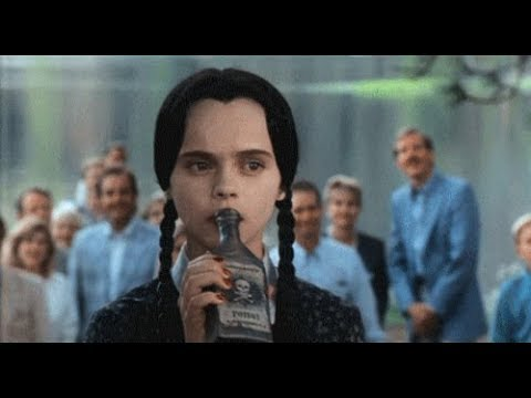 Wednesday Addams being a mood for 7 minutes straight.