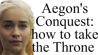 How did Aegon Targaryen conquer Westeros three hundred years before Game of Thrones? Will Daenerys take the Throne?This video contains spoilers for Game of Thrones up to Book 5 and Season 6Buy The World of Ice and Fire: http://amzn.to/2j3KggtWars and Politics of Ice and Fire: https://warsandpoliticsoficeandfire.wordpress.com/Subscribe: http://bit.ly/1NtFJufFacebook: https://www.facebook.com/pages/Alt-Shift-X/300119650155615Twitter: https://twitter.com/AltShiftXTumblr: http://altshiftx.tumblr.com/Patreon: https://www.patreon.com/AltShiftXBuy A Game of Thrones (ASOIAF Book 1): http://amzn.to/292JmwyBuy ASOIAF Books 1-5: http://amzn.to/2970vVuCreated with Adobe After Effects and a Blue Yeti USB microphone.Images and video from Game of Thrones are the property of their creators, used here under fair use.Images from The World of Ice and Fire used with permission from Random House.References / further reading:https://warsandpoliticsoficeandfire.wordpress.com/2014/12/05/taking-the-throne-a-military-analysis-of-aegons-conquest/http://asoiafuniversity.tumblr.com/post/120174027885/did-brandon-snow-and-a-weirwood-arrow-killThanks to the following Patrons: Jason A. Diegmueller, Reverend Xandria, @MrFifaSA, Cameron Weiss, @Vineyarddawg, Zachary Antin, Eric Louis-Dreyfus, Jason Pan, Jason Rattray, Cynbobby Joe, Kate Lyons, Ryan Steele, Michael Appell, Matthew Elisha Williams, Otter, David Howe, Fallon Mail, Cregg Riley, Sean Ludtke, Todd Marcus, Chris Cole, LightCraft Miniature Studios, Jake Burling, Chris Amolsch, Fred Petty