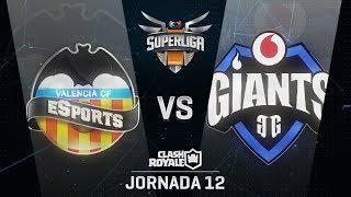 SUPERLIGA ORANGE - VALENCIA ESPORTS VS VODAFONE GIANTS - Jornada 12 - #SuperligaOrangeCR12