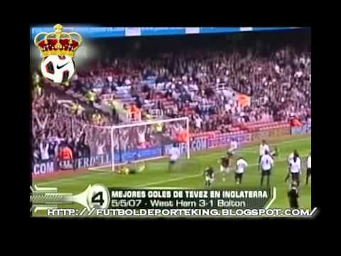 VIDEO CARLOS TéVEZ GOLES EN LA PREMIER LEAGUE