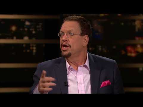 Penn Jillette on Libertarianism | Real Time with Bill Maher (HBO)