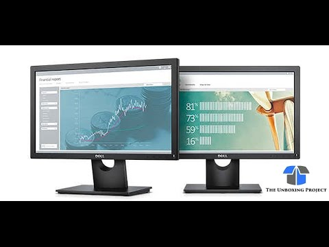 Dell E1916H Monitor Review and Unboxing