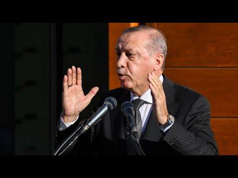 Erdogan in Köln-Ehrenfeld: Einweihung der Zentralmo ...