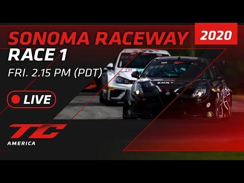 RACE 1 - SONOMA - TCR / TC / TCA 2020
