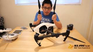 Now In STOCK!!! DJI Inspire1 Unboxing and First Initial Impressions