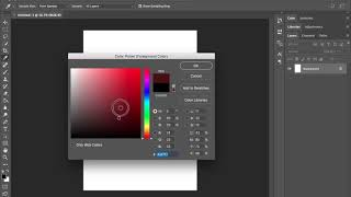 Adobe Photoshop Color Selection