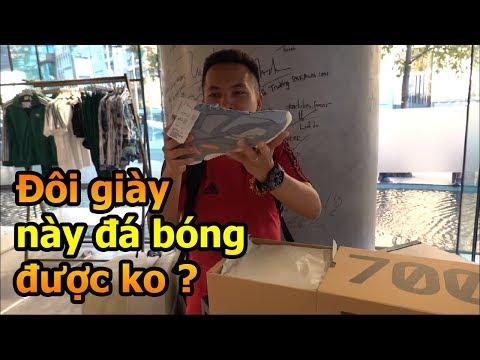 Đỗ Kim Phúc thử thách đi mua giày adidas Yeezy 700 tại Việt Nam về đá bóng - Thời lượng: 7 phút, 42 giây.