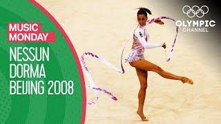 Almudena Cid Performs Rhythmic Gymnastics to Nessun Dorma at Beijing 2008 | Music Monday