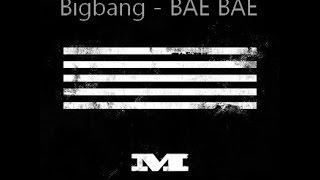 Bigbang is back with Bae Bae , the second song or their comeback Enjoy :) Music: Bigbang - Bae Bae YG Entertainment.