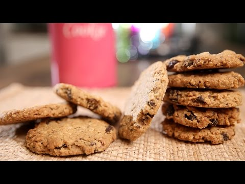 Oats Cookies Recipe | Crispy Oatmeal Cookies – Tea Time Snack Recipe | Beat Batter Bake With Upasana