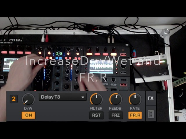 Richie Hawtin Style Delay Effect - Traktor Tutorial