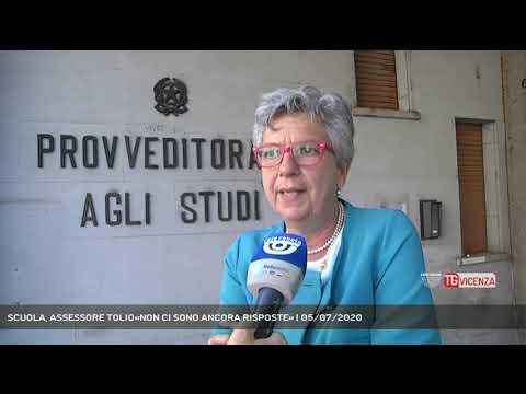 SCUOLA, ASSESSORE TOLIO«NON CI SONO ANCORA RISPOSTE» | 05/07/2020