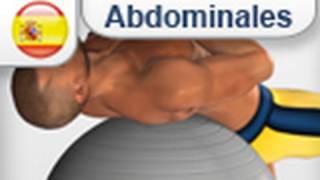 """Ejercicios """"Cross Arm Ball Crunch"""" para abdominales (exercício abdominais)"""